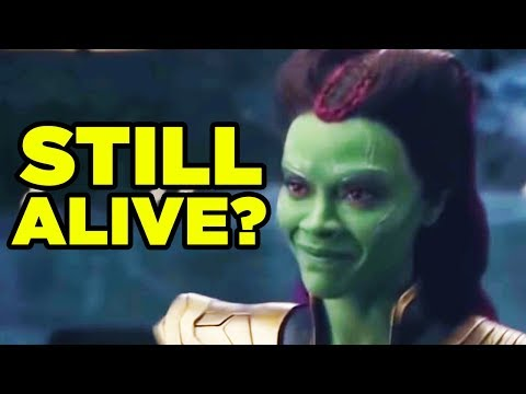 Avengers Infinity War THANOS GAMORA Deleted Scene EXPLAINED!