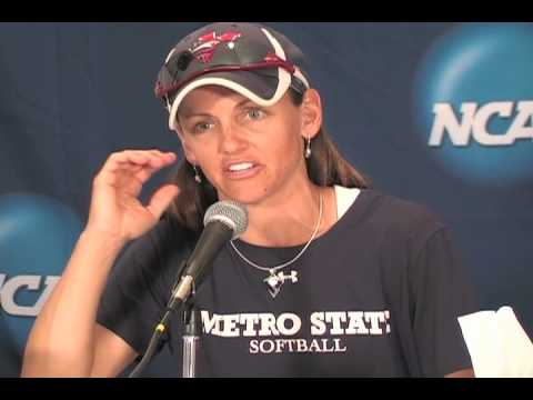 2010 Metro State Softball vs North Georgia: Post G...