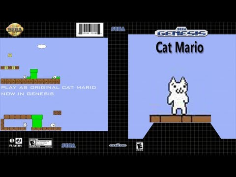 Cat Mario - Even Bigger Booty Butt Cheeks Gameplay