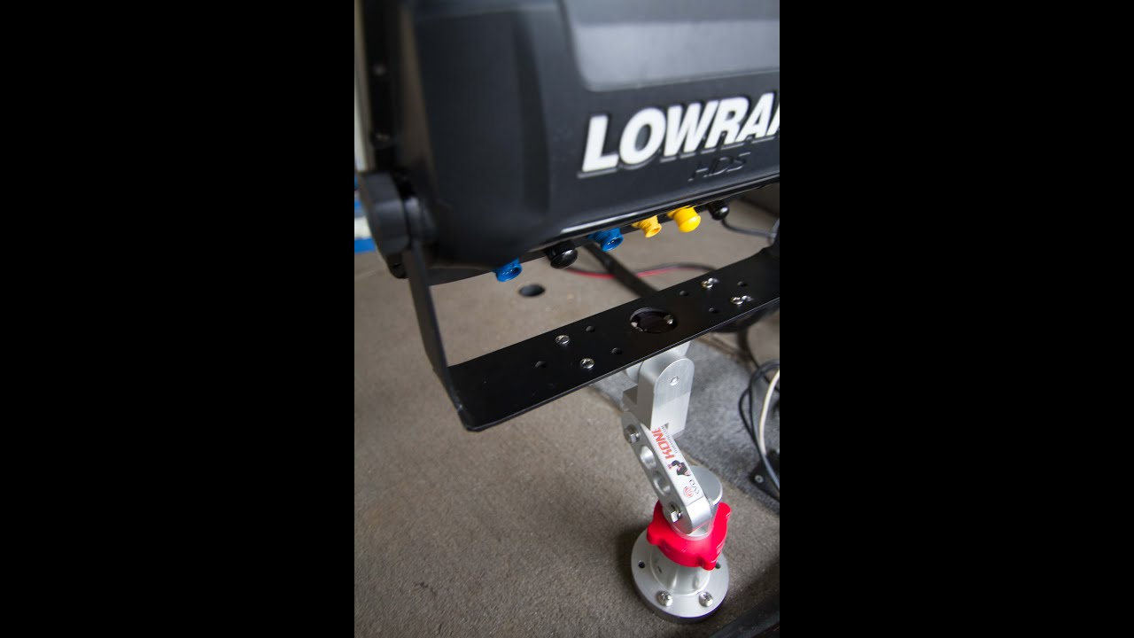 How to install the KVD Kong Mount by TH Marine  YouTube