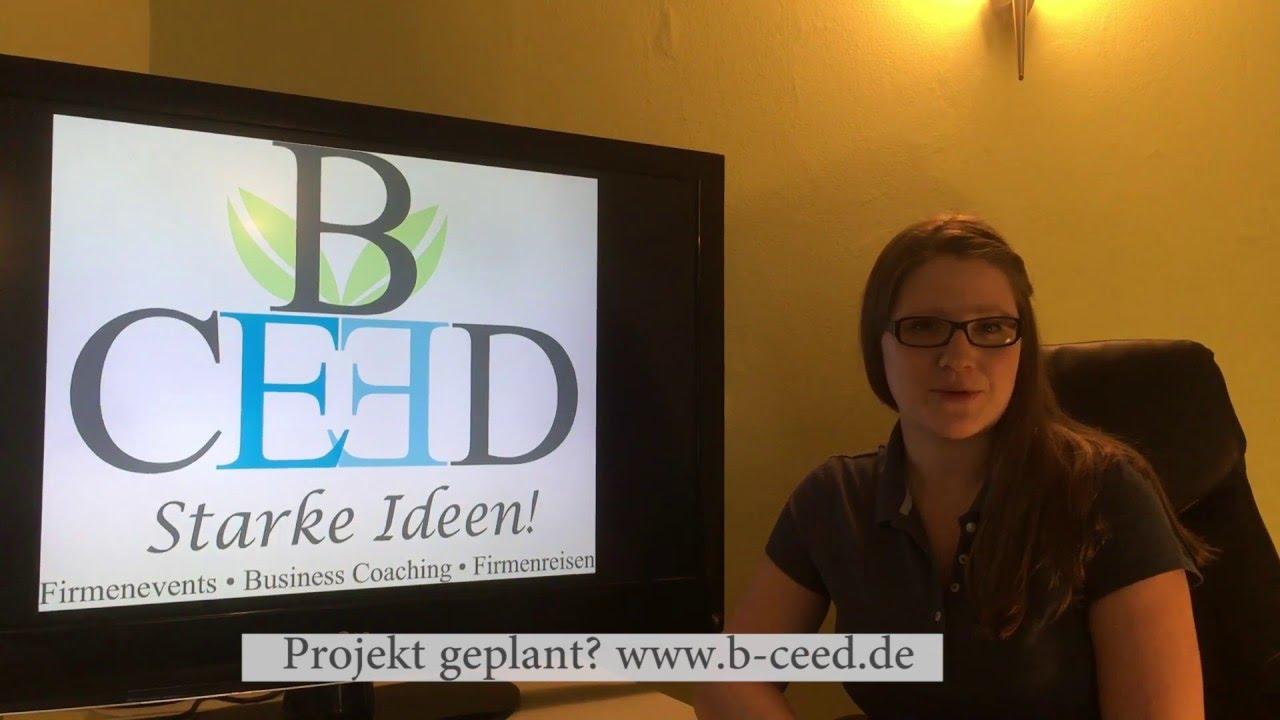 b-ceed: Ihr starker Partner für Firmenevents, Teambuilding Ideen, Business  Coaching und Firmenreisen