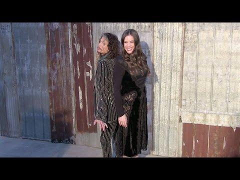 Doutzen Kroes, Uma Thurman, Steven Tyler, Liv Tyler, Ciara and more attending the Givenchy Fashion S thumbnail