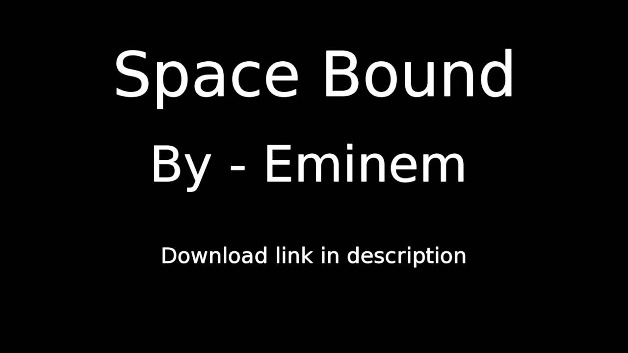 Space bound karaoke download \ dj download pioneer.