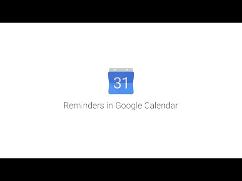 Google adds Reminders feature to Calendar apps