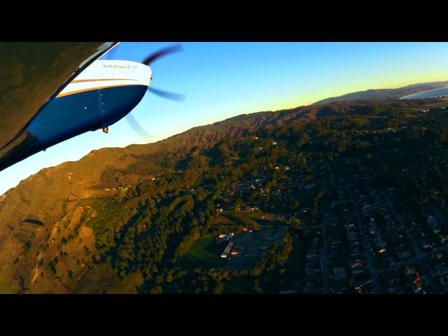 How to fly into Half Moon Bay