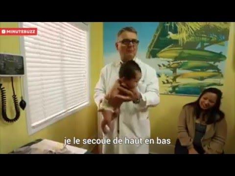 La méthode miracle d'un pédiatre pour faire cesser les pleurs de bébé !