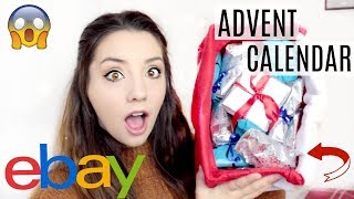 Opening Mystery ADVENT CALENDAR From EBAY! | ThoseRosieDays