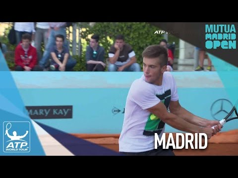Coric Training Hard For Madrid Opportunity 2017