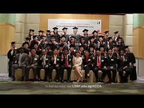 LSBF in Singapore - ACCA Graduation Ceremony 2013