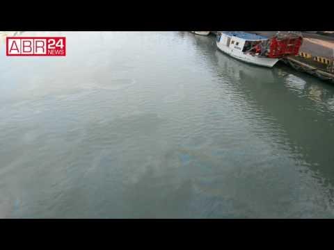 Idrocarburi sversati nel fiume Pescara, la denuncia del Forum H2O