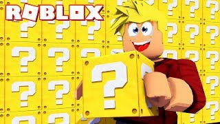 ROBLOX: BATALHA LUCKY BLOCK!