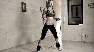 видео Прыжки на скакалке для похудения
