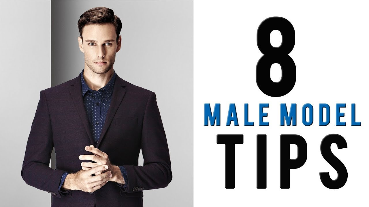How To Look Good In Photos For Men | 8 Male Model Tips