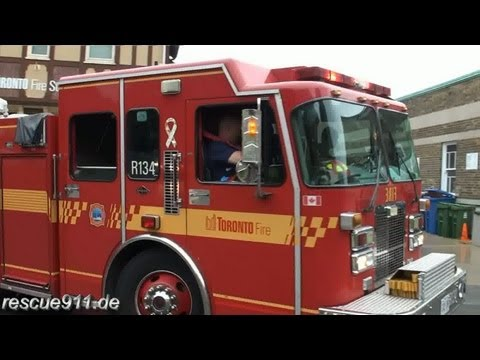 Rescue pump 134 Toronto Fire Services