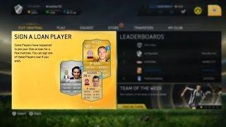 FIFA 15 Ultimate Team - News & Screenshots - LOAN PLAYERS, CONCEPT SQUADS & MORE [ITA]