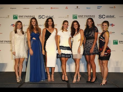 2016 WTA Finals Singles Draw Ceremony