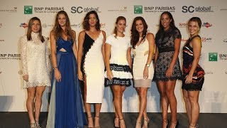 2016 WTA Finals Singles Draw Ceremony