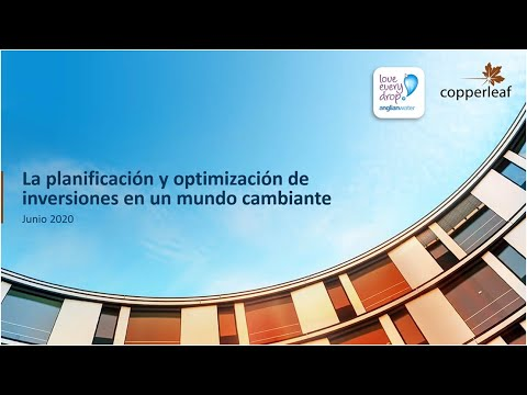 Webinar: La planificación y optimización de inversiones en un mundo cambiante