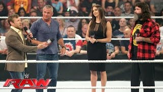 the raw and smackdown live general managers are revealed raw july 18 2016