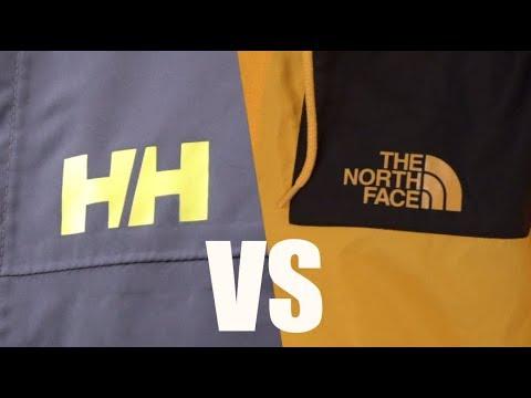 The North Face VS Helly Hansen. Сравниваем куртки от двух брендов.