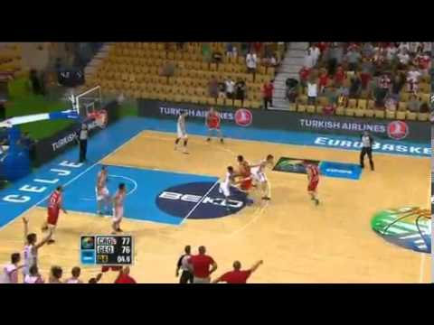 Spain v Serbia - Highlights - Semi-Final - FIBA Women's EuroBasket 2019 from YouTube · Duration:  1 minutes 36 seconds