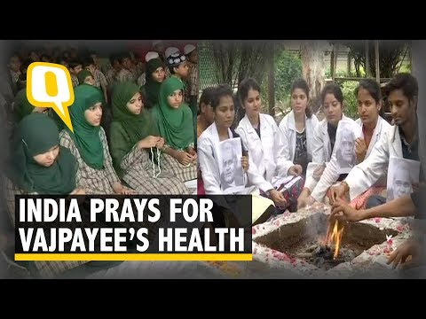 Atal Bihari Vajpayee Critical: India Unites to Pray for Former Prime Minister Admitted in AIIMS thumbnail