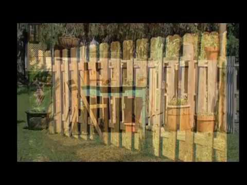 Забор из поддонов своими руками пошагово фото