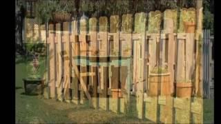 как сделать забор своими руками из поддонов