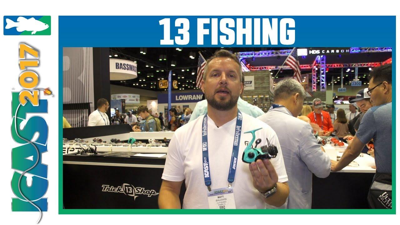 13 fishing prototype tx spinning reels with matt baldwin for 13 fishing tx