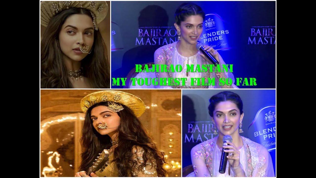 UNCUT | Bajirao Mastani | Deepika Padukone gives first ...