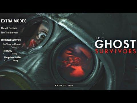 Resident Evil 2 Remake - Ghost survivors DLC The Forgotten Soldier Walkthrough (PS4 Pro)