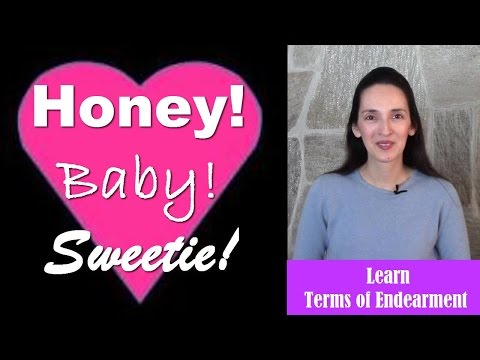 Terms of Endearment - English Language Notes 15