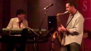 "Gregg Karukas feat. Eric Marienthal ""Girl in the Red Dress"" live @ Spaghettini"
