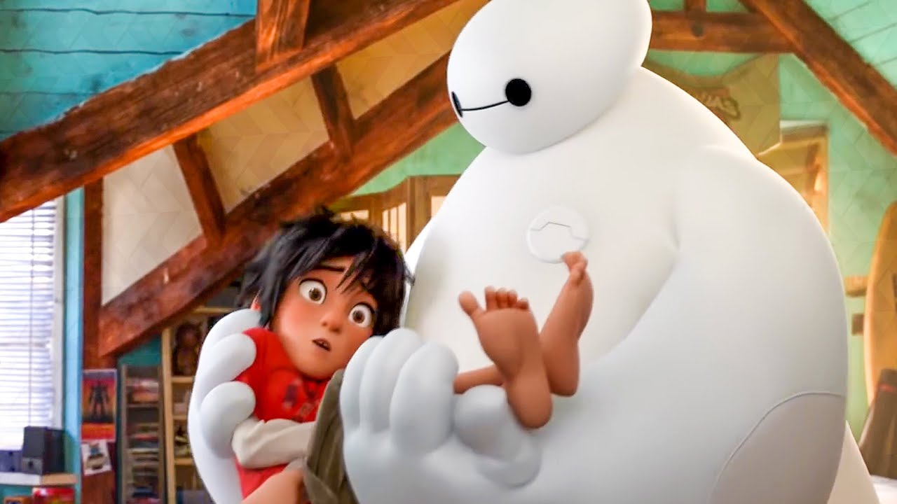 Download Baymax Meets Hiro For First Time Scene - BIG HERO 6 (2014) Movie Clip