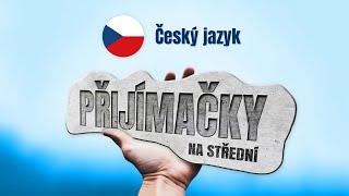 PŘIJÍMAČKY NA STŘEDNÍ ŠKOLY (4LETÉ OBORY) - ČEŠTINA - ÚVODNÍ VIDEO - Tomáš Ficza 💙 LearnTube.cz