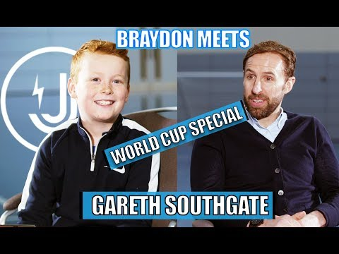 BRAYDON MEETS.... GARETH SOUTHGATE - WORLD CUP SPECIAL