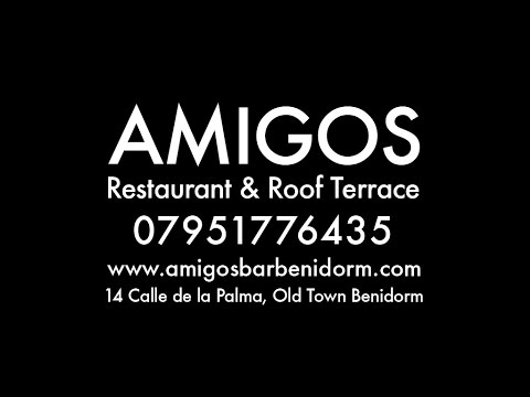 BENIDORM OLD TOWN FEATURING AMIGOS RESTAURANT AND ROOF TERRACE