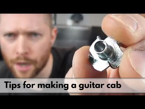 6 Tips for making a guitar cab