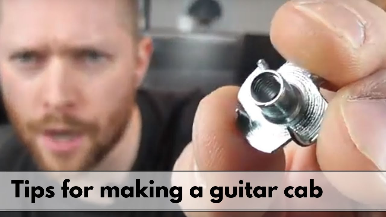 Download 6 Tips for making a guitar cab