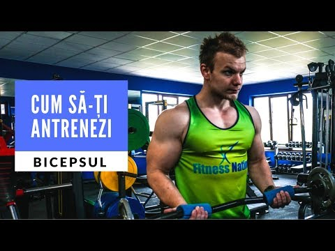 Cum sa-ti Antrenezi Bicepsul | Vlog