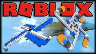 BUILDING A ROTATING UFO BUGANTE!! -ROBLOX Crazy Alpha Plane