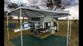Australians know how to tent camp!!! Patriot Campers X1 & X2 : Overland Expo 2017