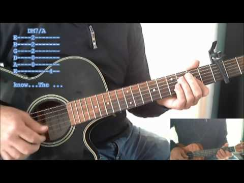 RainDrops Keep fallin' on my Head, Guitar lesson with tabs and Lyrics