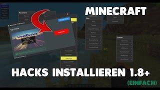MINECRAFT HACKS INSTALLIEREN [1.8] | byEliteHacks