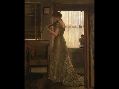 Joseph Rodefer DeCamp (1858-1923) American artist ✽ Christian Bergqvist / (Last Spring