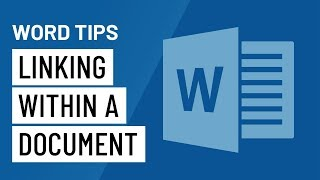 Word Quick Tip: Linĸing Within a Document