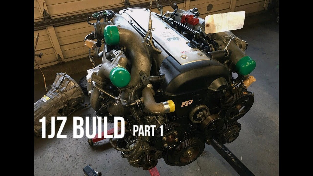 The 1JZ VVTI Build part 1