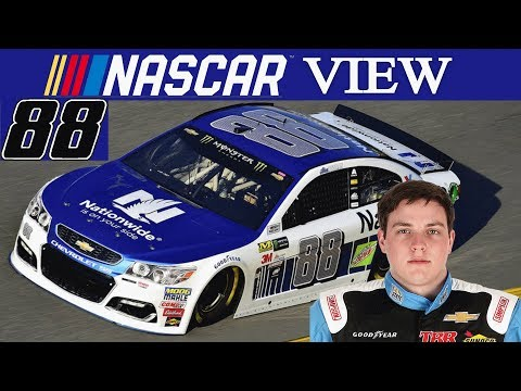 NASCAR View #87 Alex Bowman to the 88 in 2018