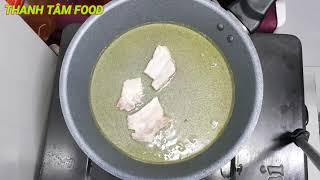 Thịt Heo chiên giòn || món ngon dễ làm|| Thanh Tâm Food