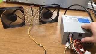 видео Как подключить кулер к блоку питания компьютера